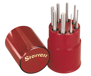 View the S565WBStarrett S565WB Drive Pin Punch Set